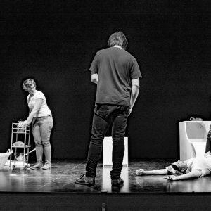 Joana Maria Peralta, Dani Serra, Rebecca Alabert - Backstage Dali died